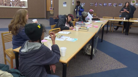 Dallas Public Library Engages Homeless for Coffee & Conversation