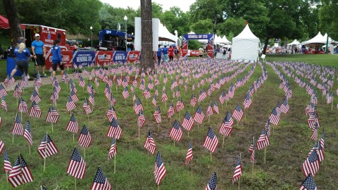 Dallas 'Carries the load' to honor the fallen