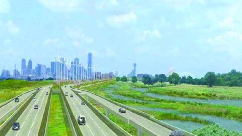 Mayor Rawlings announces $50 million donation for new Trinity River Park