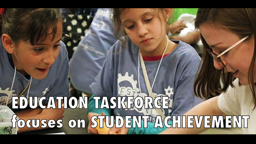 Education task force focuses on student achievement