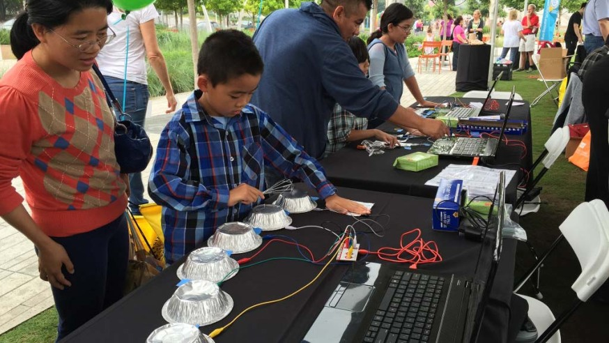 Library and City of Learning present Turn Up! Discovery Faire Saturday June 20