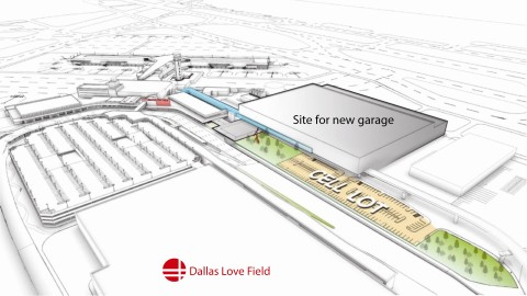 New Love Field parking garage will accommodate increased passengers
