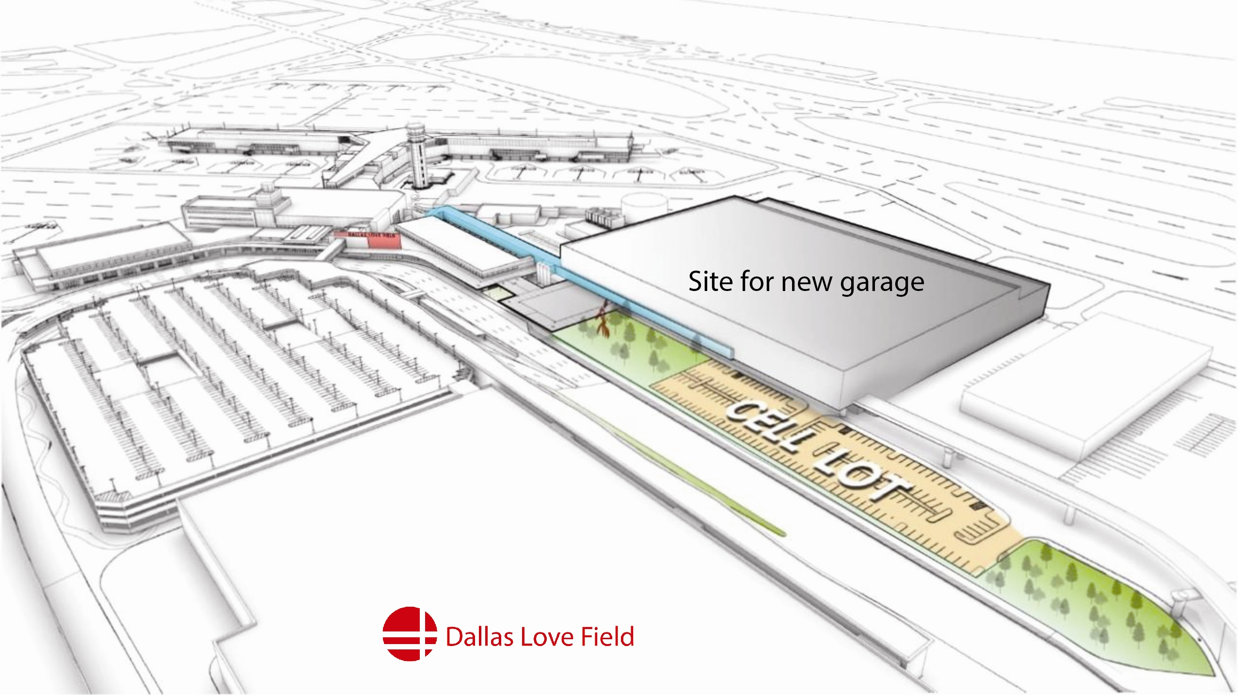 New Love Field Parking Garage Will Accommodate Increased Pengers