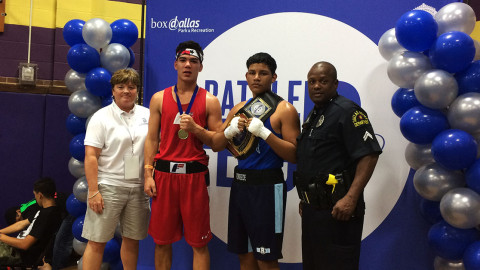 Dallas Police Athletic League and Dallas Parks hosts Big D Boxing