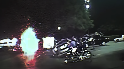 Video: Dallas Police work together to save a life