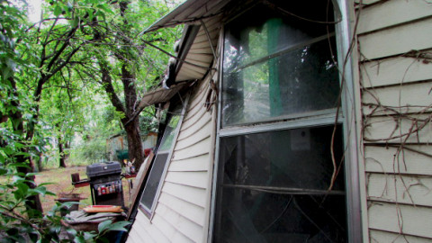City departments team up to demolish nuisance house
