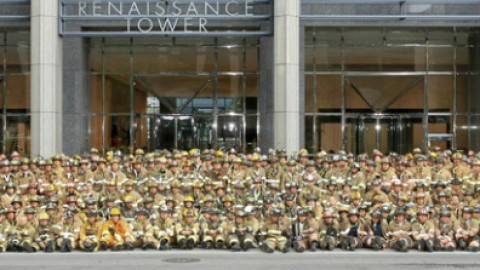 DALLAS 911 MEMORIAL STAIR CLIMB WILL BE HELD SATURDAY AT RENAISSANCE TOWER
