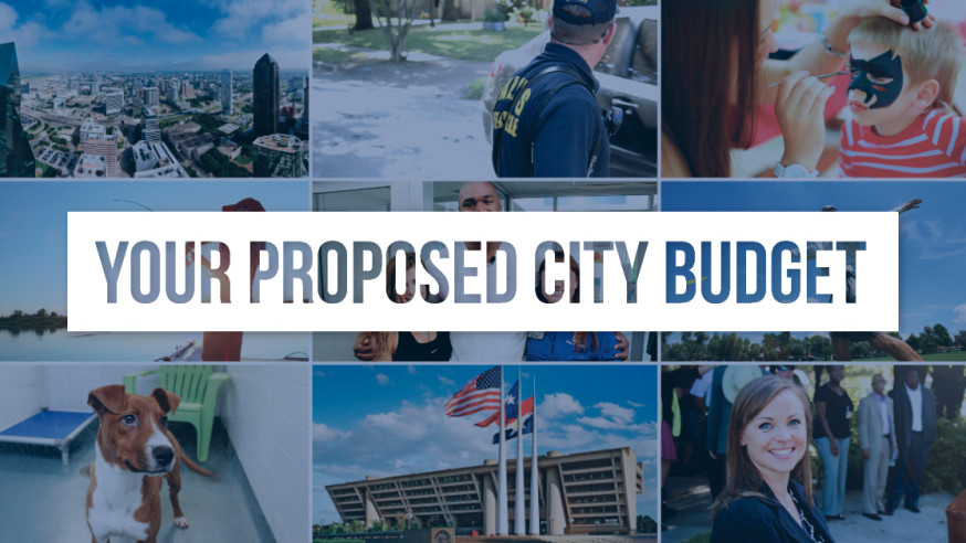 Proposed City Budget and Budget Townhalls