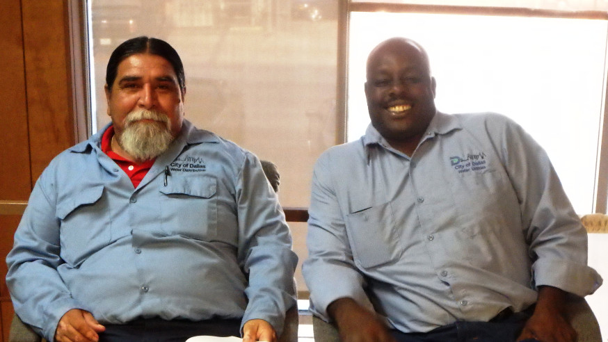 City of Dallas employees help thwart robbery in progress