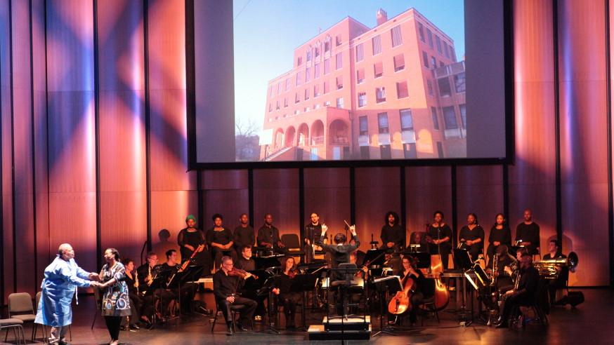 Local residents mark Katrina anniversary with contemporary opera