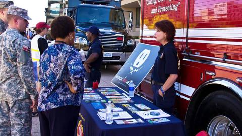 Dallas Emergency Preparedness Fair at Klyde Warren Park – Sept. 12