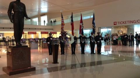Dallas Love Field airport ceremony Friday will mark 14th anniversary of 9/11