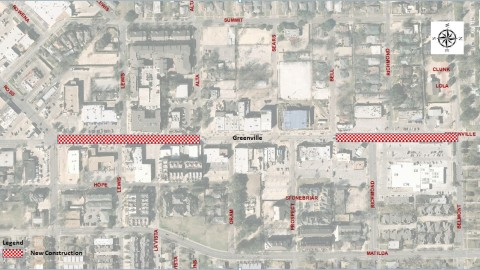 Lowest Greenville Avenue makeover now underway