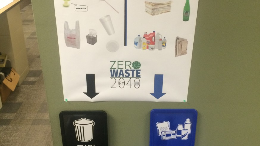 Sanitation Services trashes traditional bins to encourage zero waste goals