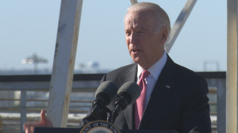 VIDEO: VP Joe Biden in Dallas: high speed rail is future of transportation