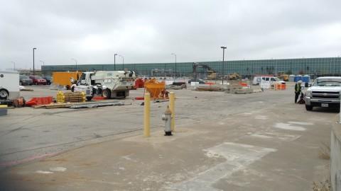 Construction preparations begin for Love Field Garage C