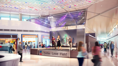 Dallas Love Field earns second consecutive award for customer experience