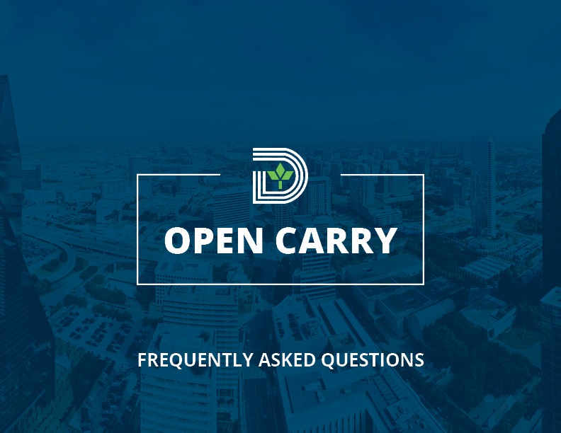 Open Carry - Header