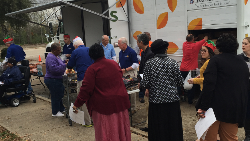 NTFB fighting hunger with Mobile Food Pantry