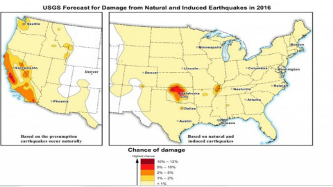 Dallas/Irving area included in new USGS Seismic Hazard Model