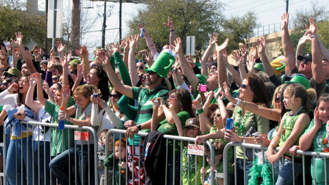 St. Patrick's Day events on Greenville Avenue