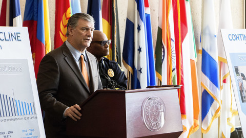 Mayor Rawlings, Chief Brown address city's rising crime rate