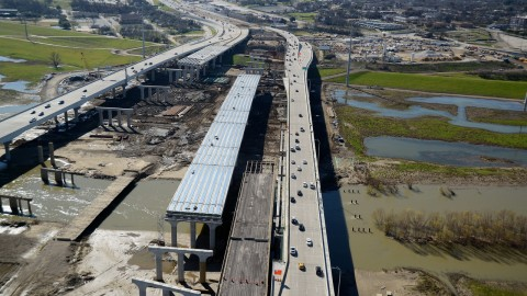 Dallas Horseshoe Project: New right exit from south I-35E to west I-30 opens May 1