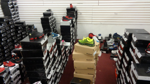 DPD and joint task force make huge counterfeit bust