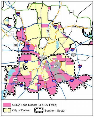 Dallas Map Program on