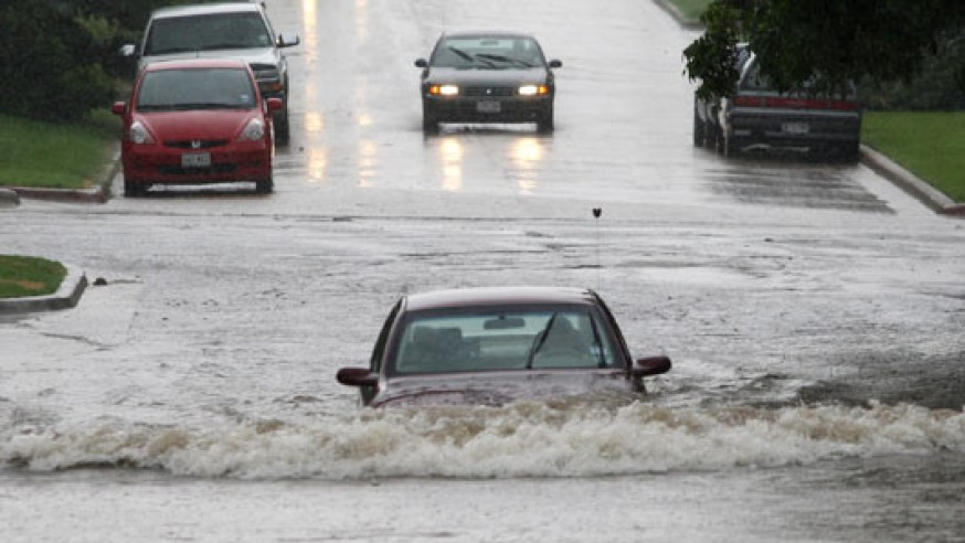 Caution: High-water conditions expected in the Dallas area