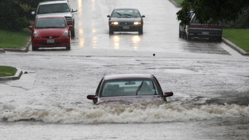 """City of Dallas reminds drivers: """"Turn Around, Don't Drown ..."""