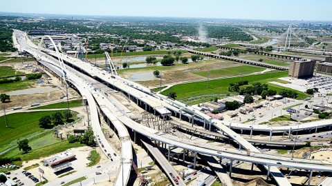 Dallas Horseshoe Project traffic alert and lane closures