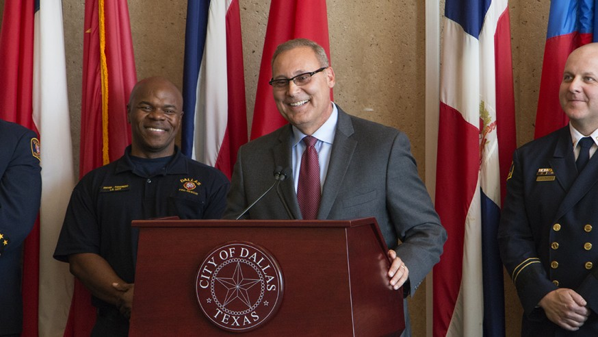 City Manager A.C. Gonzalez names new Fire Chief
