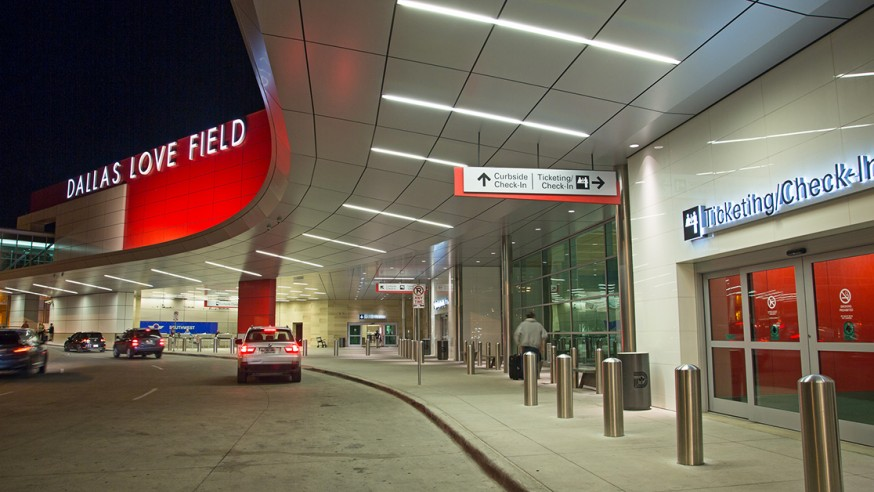 Dallas Love Field again named to Travel + Leisure's World's Best Airports