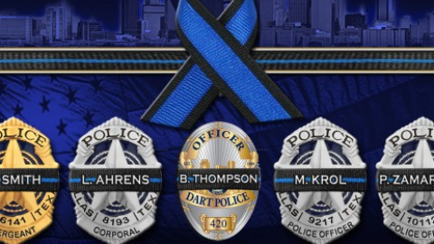 Public invited to Dine for Dallas Blue tonight  to support families of fallen heroes