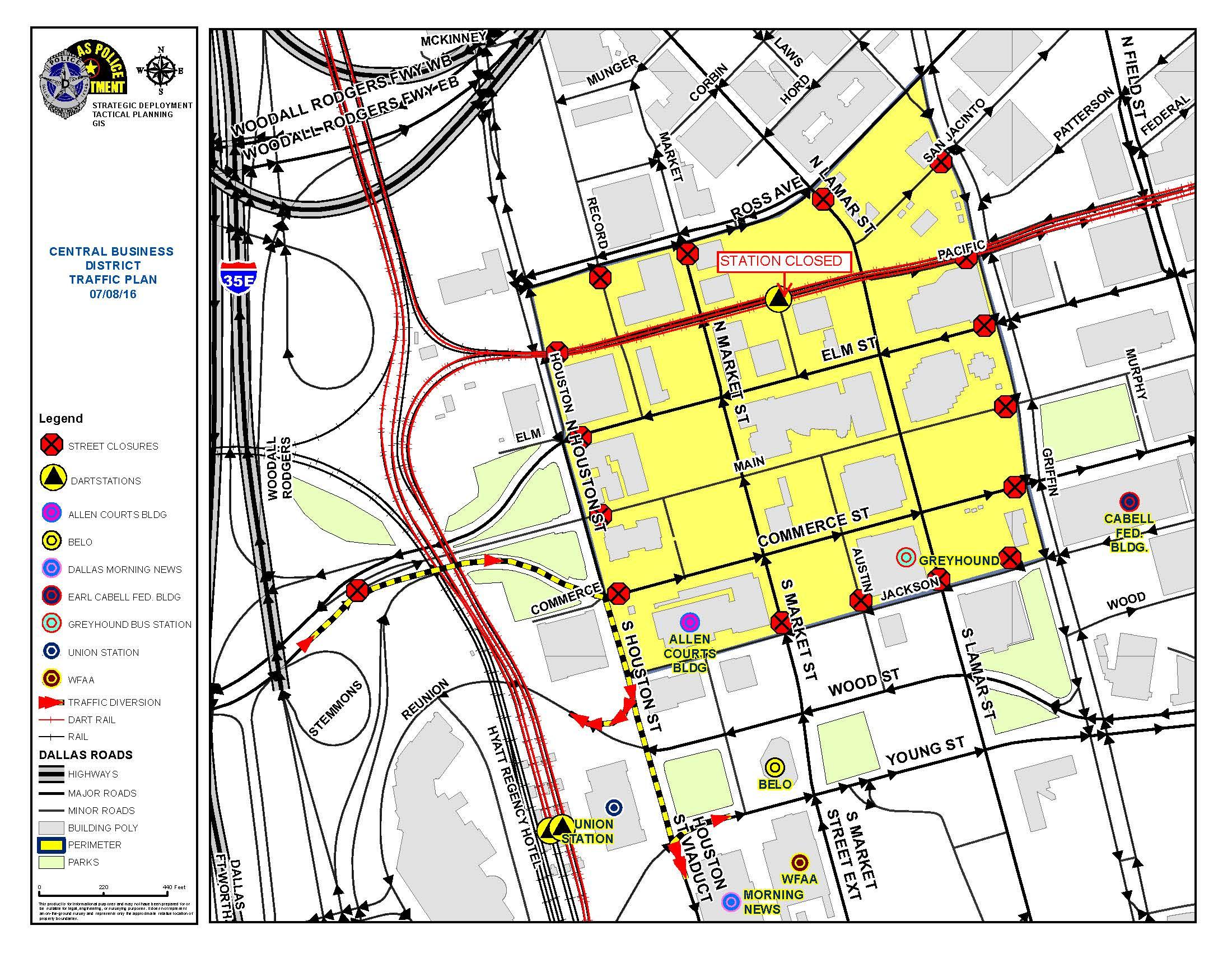 DPD Traffic Plan