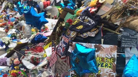 Dallas Police Department and Dallas Public Library partner to preserve fallen officer memorial