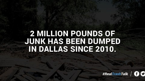 City announces progress in cleaning up illegal dumping in Dallas