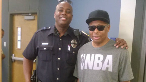 City of Dallas Security Officer helps homeless vet