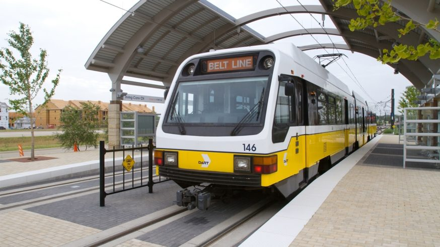 Public investment around DART Rail moving North Texas