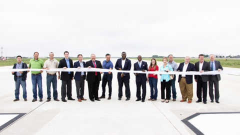 New runway now open at Dallas Executive Airport