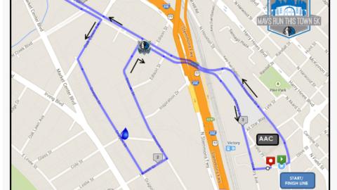Road closures announced for Oct. 6 Mavs 5K Run