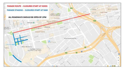 Some downtown streets to be closed today for State Fair Parade
