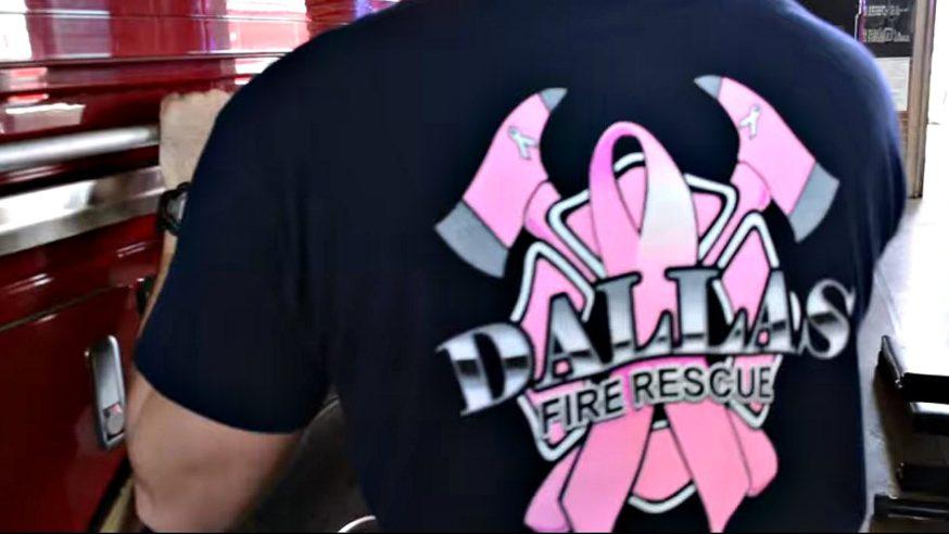 Dallas Fire Rescue raises money for breast cancer treatment