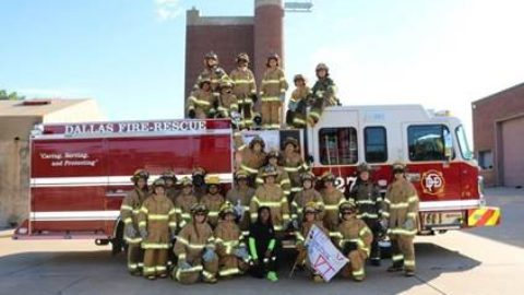 L.A.D.D.E.R program helping young girls join fire service