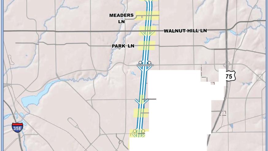 Repairs to begin week of Nov. 7 on Dallas North Tollway streets