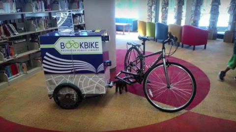 Dallas Public Library needs public's help to fund Book Bike vehicle