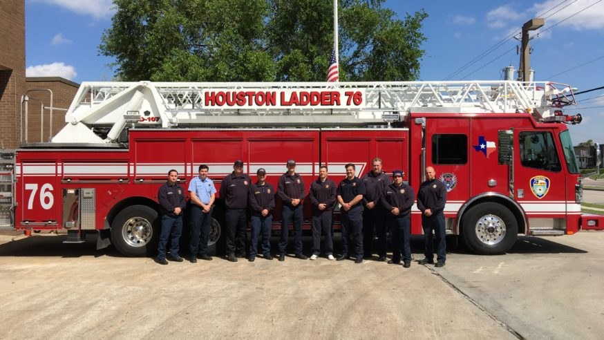 Dallas firefighters cover shifts in Houston during funeral of Capt. William Dowling