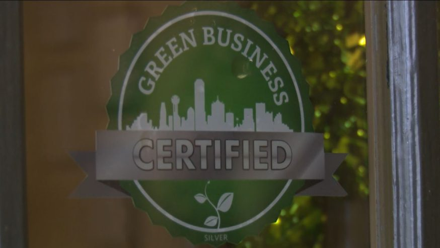 First green business is certified in Dallas