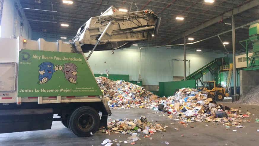 86,000 tons of recyclables thrown away in Dallas every year